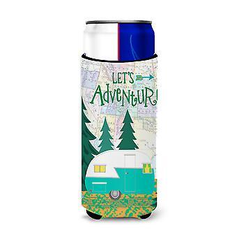 Let's Adventure Glamping Trailer Ultra Beverage Insulators for slim cans