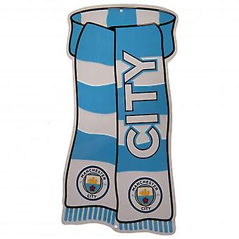 Manchester City Show Your Colours Sign