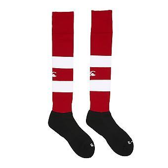 CCC cerchiata calza team [rosso/bianco]