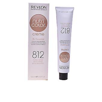 Revlon Nutri kleur Creme #812-licht parelwitte Beige Blonde 100 Ml Unisex