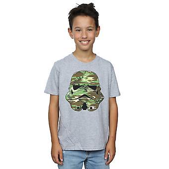 Star Wars Boys Stormtrooper Command Camo T-Shirt