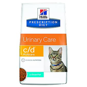 Hill's Prescription Diet c/d Urinary Care Fish (Cats , Cat Food , Dry Food)