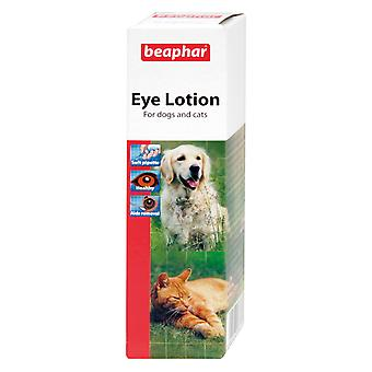 Beaphar Dog Cat Eye Lotion 50ml Sterile Saline - Solution