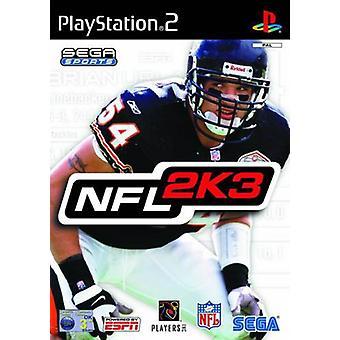 NFL 2K3 (PS2)-fabriks forseglet