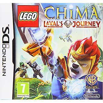 LEGO Legenden von Chima Lavals Reise (Nintendo DS) - Fabrik versiegelt