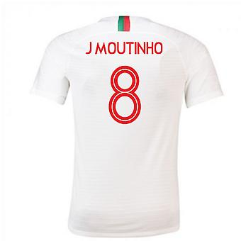 2018-2019 Portugal Away Nike Football Shirt (J Moutinho 8)