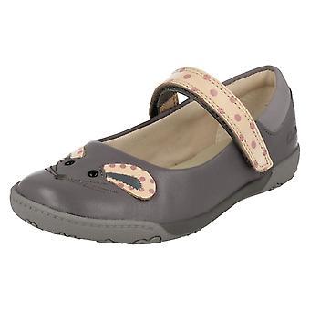 NibblesMoe обувь Clarks девочек