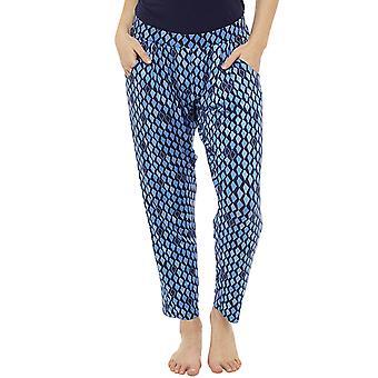 Fondos de mujeres ligero Harem Tribal verano impresión pantalón pantalones del desgaste del salón