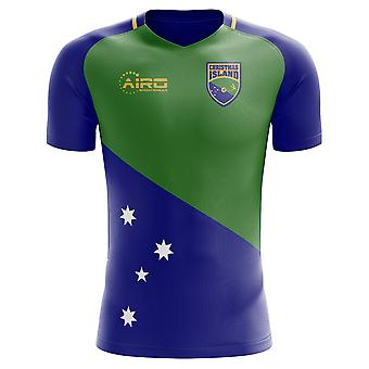 2020-2021 Christmas Islands Home Concept Voetbalshirt