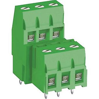 DECA MB360-500M04 Screw terminal 3.30 mm² Number of pins 4 Green 1 pc(s)