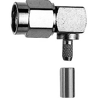 SMA-liitin pistoke, kulmassa 50 Ω Telegärtner J01150A0079 1 PCs()