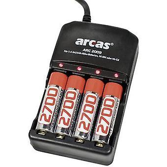 Arcas ARC-2009 Lader for sylindriske celler inkl.