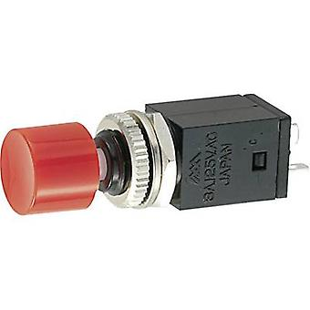 Miyama DS-408, YE Pushbutton switch 125 V AC 3 A 1 x Off/On latch 1 pc(s)