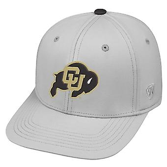 Colorado Buffaloes NCAA TOW Impact Gray Stretch Fitted Hat