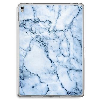 iPad Pro 9,7 tommers gjennomsiktig sak (myk) - blå klinkekule
