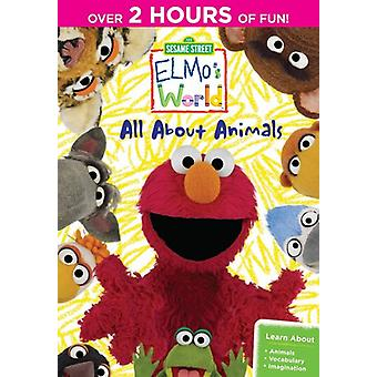 Sesame Street - Sesame Street: Elmo's World: All About Animals [DVD] USA import