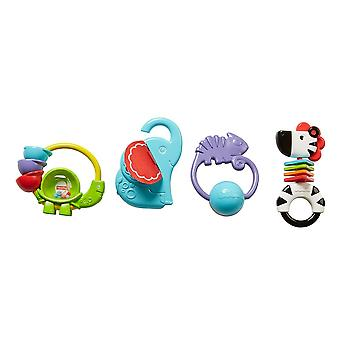 Fisher Price Signature Colourful Animal Teether With Sounds Assortment