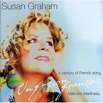 Susan Graham & Malcolm Martineau - Un Frisson Fran Ais: A Century of French Song [CD] USA import