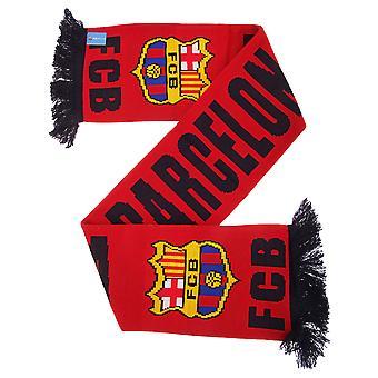 FC Barcelone officiel tricot écharpe de Football Crest mot-symbole