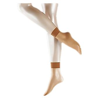 Falke Shelina Ultra Transparent  12 Denier Anklet Tights - Noisette Tan