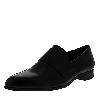 Womens Vagabond Frances Work Office preto polido inteligente sapatos de couro