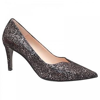 Perlato Classic High Heel Court Shoe With V-cut