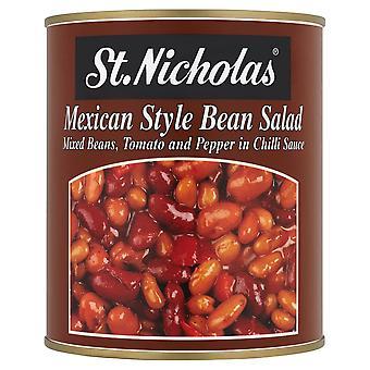 聖ニコラス メキシコ風豆のサラダ
