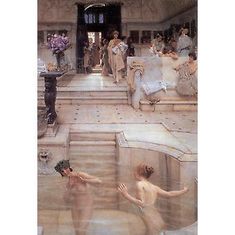 A Favourite Custom, Alma-Tadema Sir Lawrence, 66.1 x45cm