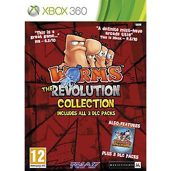 Worms The revolution Collection (Xbox 360)-fabriks forseglet