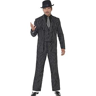 Vintage Gangster Boss Costume, Chest 46