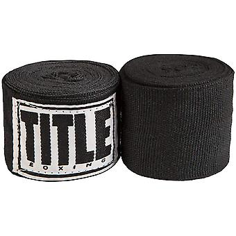 Title Boxing Mexican Style Handwraps-Black