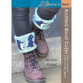 Poignets tricot Boot par Monica Russel - livre 9781844488490