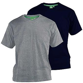 D555 Fenton T-Shirt Twin Pack