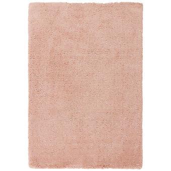 Lulu Shaggy Rugs In Pink