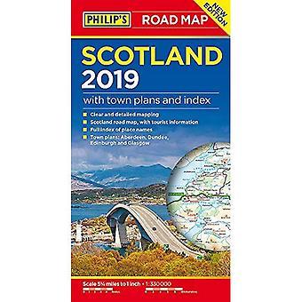 Mapa Szkocji Filipa