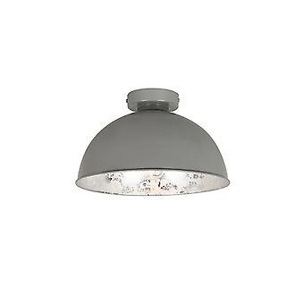 QA-QA lampada a soffitto grigio con argento 30 cm - Magna Basic