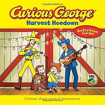 Curioso George Harvest Hoedown (Cgtv 8 X 8)