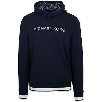 Bluză de molton cu glugă, bleumarin, Michael Kors