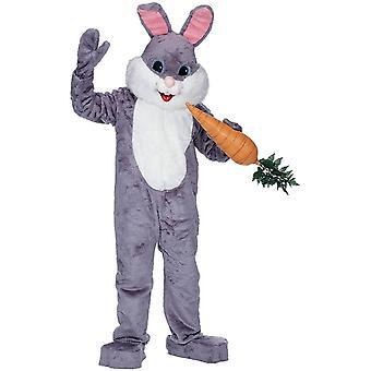 Costume lapin gris