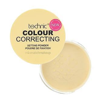 Technic Yellow Colour Correcting Setting Powder