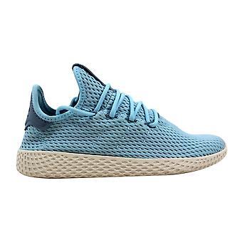 Adidas Pharrell Williams tenis Chu J oceán Blue/White CP9802 základní škola