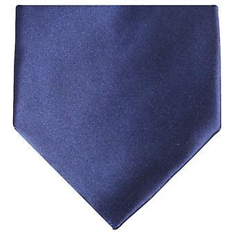 Knightsbridge Neckwear Regular Polyester Tie - Dark Navy