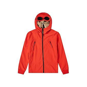 C.P. Company Undersixteen Red Soft Shell Goggle Jacket