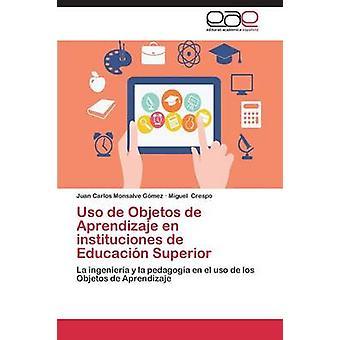 USO de Objetos de Aprendizaje nl Instituciones de Educación Superior door Monsalve Gomez Juan Carlos