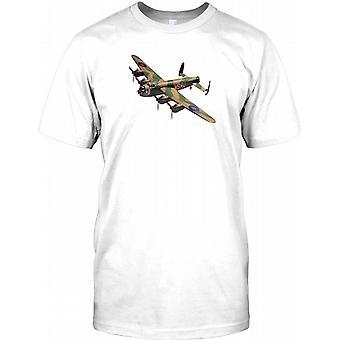 Lancaster-Bomber - WW2-Flugzeug-Herren-T-Shirt