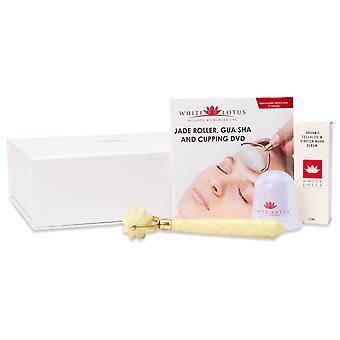 Jade-Rollen-Stretchmarke & Cellulite-Kit