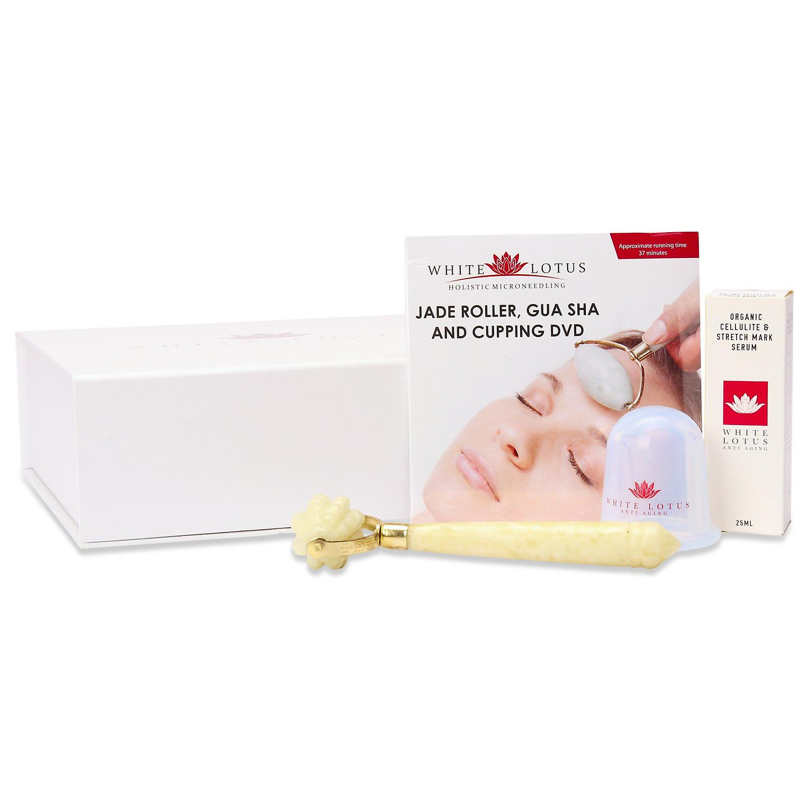 Jade roller stretch mark & cellulite kit