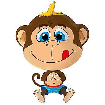 Ilmapallo apina apina ilmapallo helium ilmapallo 79 x 57 cm foliopallo