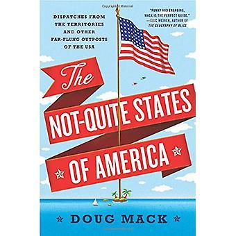 De ikke-helt stater i USA - forsendelser fra områderne og