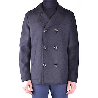Massimo Rebecchi Ezbc214012 Men's Black Polyester Coat